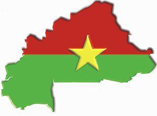 Karte von Burkina Faso